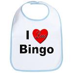 I Love Bingo Bib