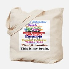 This Is My Brain Tote Bag