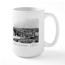 Large Brisbane Photo Mug