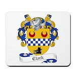 Clark Family Crest Mousepad