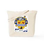 Clark Family Crest Tote Bag