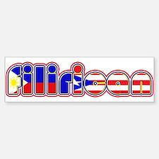 FiliRican Bumper Bumper Bumper Sticker
