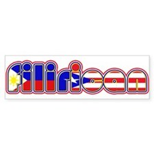 FiliRican Bumper Car Sticker