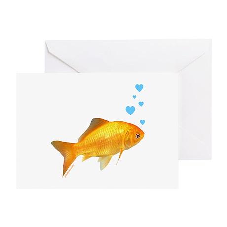 GOLDFISH Greeting Cards (Pk of 20)