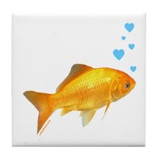 GOLDFISH Tile Coaster