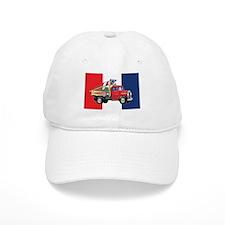 4th of July Vintage Truck Baseball Cap