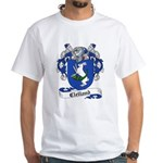 Clelland Family Crest White T-Shirt