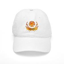 Fire Chiefs Flame Tattoo Baseball Cap