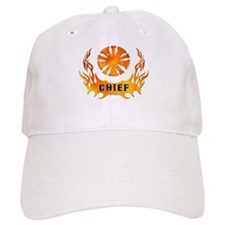 Fire Chiefs Flame Tattoo Hat
