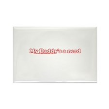 My Daddy's A Nerd Rectangle Magnet (10 pack)