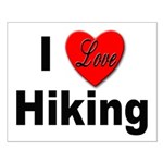 I Love Hiking Small Poster