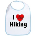 I Love Hiking Bib
