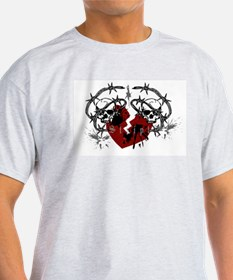 Barbed Wire Heart T-Shirt