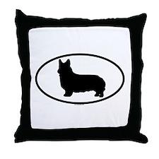 CORGI-PEMBROKE Throw Pillow