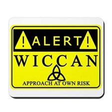 Wiccan Trinity Triquetra Mousepad