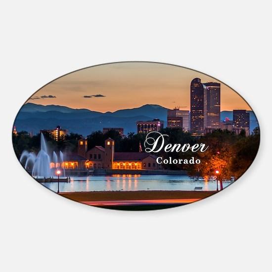 Denver Sticker (Oval)