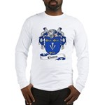Clunes Family Crest Long Sleeve T-Shirt