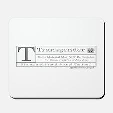 The T Contents Mousepad