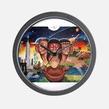 """TAINO PAST AND PRESENT"" Wall Clock"