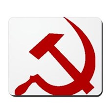 Red Hammer & Sickle Mousepad