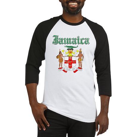 Jamaican Coat of arms Baseball Jersey