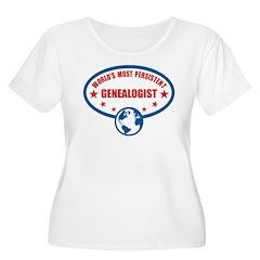 Most Peristent Genealogist T-Shirt