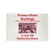 fresno st cinderella 2008 Rectangle Magnet