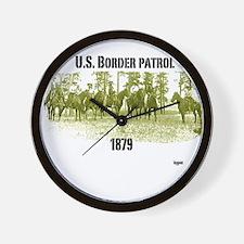 U.S. border control Wall Clock