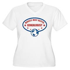 Most Helpful Genealogist T-Shirt