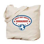 Most Forgetful Genealogist Tote Bag