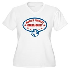 Worlds Funniest Genealogist T-Shirt