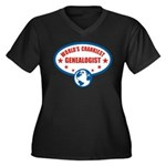 Worlds Crankiest Genealogist Women's Plus Size V-N