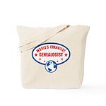 Worlds Crankiest Genealogist Tote Bag