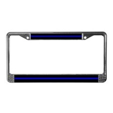 The Thin Blue Line License Plate Frame