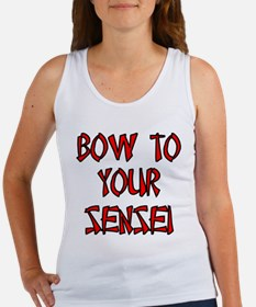 Bow To Your Sensei Women's Tank Top