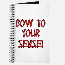 Bow To Your Sensei Journal