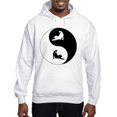 Yin Yang Cat Hooded Sweatshirt