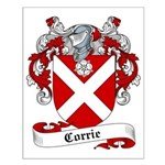 Corrie Family Crest Small Poster