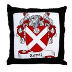 Corrie Family Crest Throw Pillow