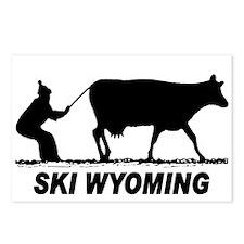 Ski Wyoming Postcards (Package of 8)