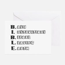 LG - B.I.B.L.E. Greeting Card