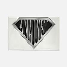 SuperAnalyst(metal) Rectangle Magnet