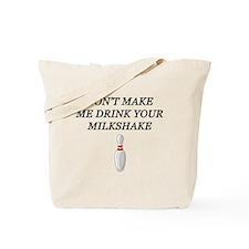 Drinking milkshake Tote Bag