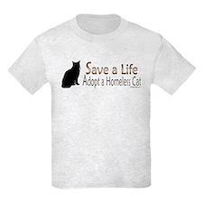 Adopt Homeless Cat T-Shirt