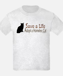 Adopt Homeless Cat T-Shirt