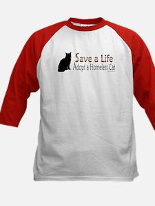 Adopt Homeless Cat Tee