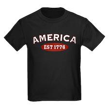 America Est 1776 T