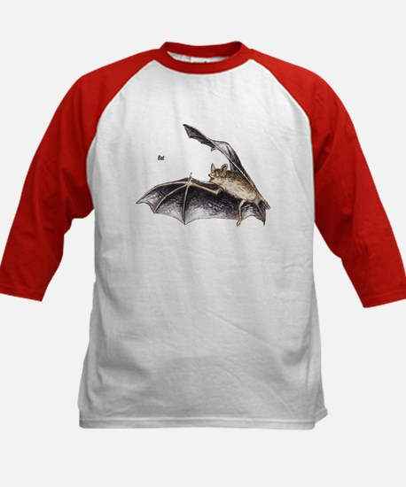 Bat for Bat Lovers (Front) Kids Baseball Jersey
