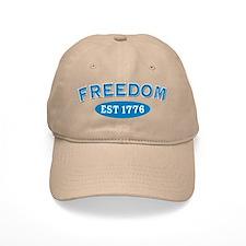 Freedom Est 1776 Baseball Baseball Cap