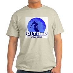 Gitmo Surf Club Ash Grey T-Shirt